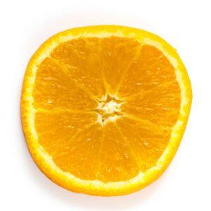 Slice of fresh orange