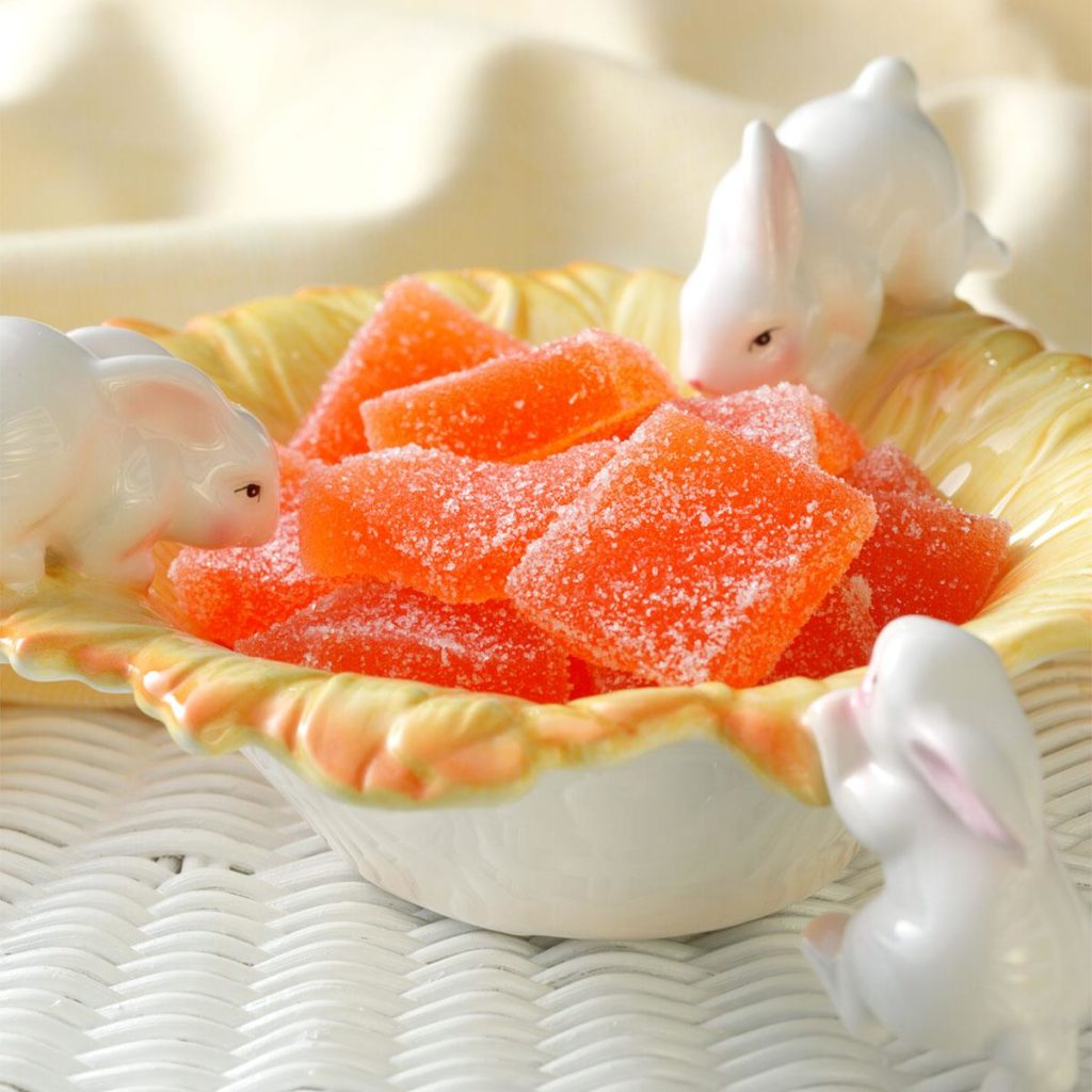Slab Jellies Using Fruit Juice