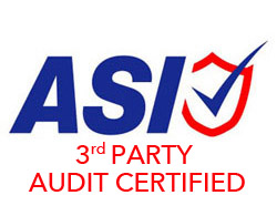 ASI 3RD PARTY CERTIFIED