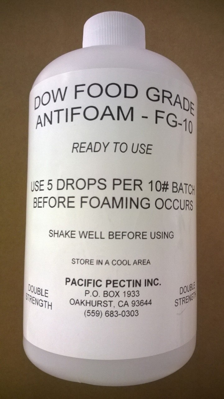 PACIFIC FOOD GRADE ANTIFOAM: Helps Prevent excessive foaming