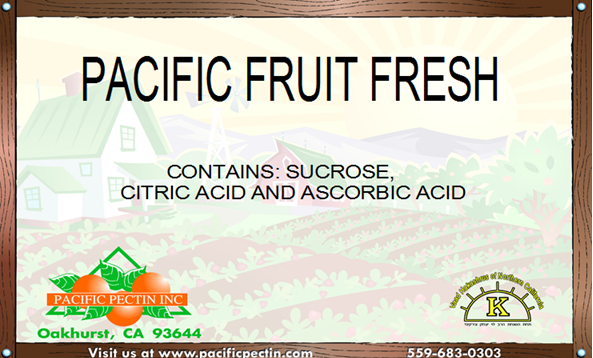 PACIFIC FRUIT FRESHENER: Helps prevent fruit discoloration.