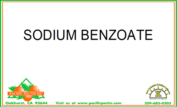 SODIUM BENZOATE: Preservative