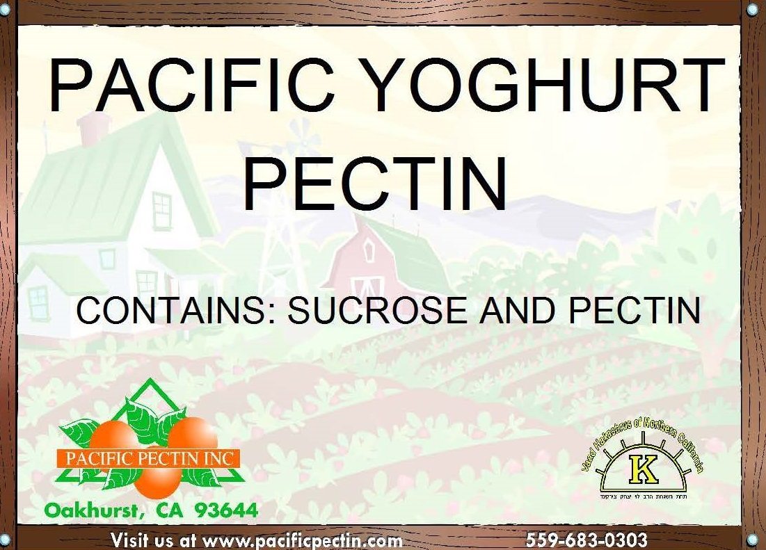 PACIFIC YOGHURT PECTIN: Designed to be used in yoghurt type applications